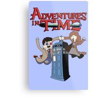 Adventures In Time Metal Print