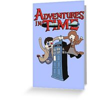 Adventures In Time Greeting Card