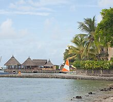 Tourist resort in Mauritius by rajeshbac