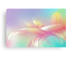 Rainbow Cerbera Petals Canvas Print