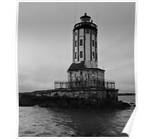 Lighthouse Without a Keeper, San Pedro, CA. Poster