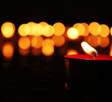 Angel Candles by Amy Dee