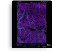 USGS Topo Map Oregon Lehman Springs 280501 1967 24000 Inverted Canvas Print