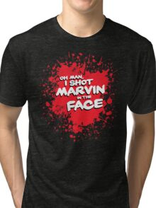 IN THE FACE !!! Tri-blend T-Shirt