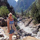 Samaria Gorge, Crete, Greece by Francis Drake