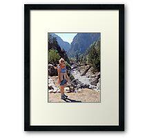 Samaria Gorge, Crete, Greece Framed Print