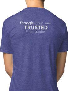 Google Street view | Trusted Photoghapher Tri-blend T-Shirt