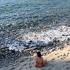 Contemplation on Ligres, Beach, Crete, Greece by Francis Drake