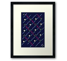 Future in Flux Framed Print