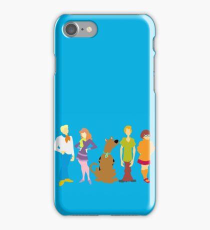 Scooby Doo Gang iPhone Case/Skin