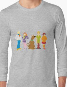 Scooby Doo Gang Long Sleeve T-Shirt