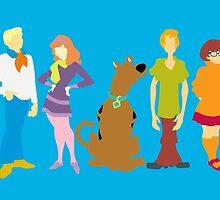 Scooby Doo Gang by karlaestrada