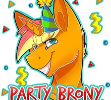 PARTY BRONY - MLP by CCwolfie by Dacdacgirl