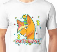 PARTY BRONY - MLP by CCwolfie Unisex T-Shirt