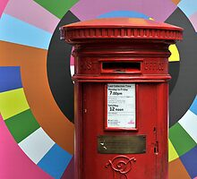 New Order Post Box by David Crausby
