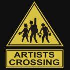 Artists Crossing by Beth Achenbach