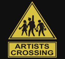 Artists Crossing by Beth Achenbach