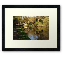 Calm reflections Framed Print