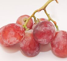 Red grape by rajeshbac