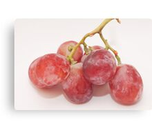 Red grape Canvas Print