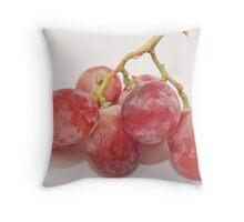 Red grape Throw Pillow