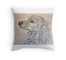 A Dog Named Peanuts Throw Pillow