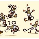 Little Monkey by MissIllustrator