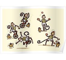 Little Monkey Poster