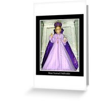 Infant of Prague Statue Greeting Card