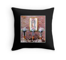 Our Lady of Guadelupe Throw Pillow
