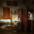 Doctor - X-Ray - In the doctors care 1920 by Mike  Savad