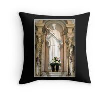 St. Aloysius Statue Throw Pillow