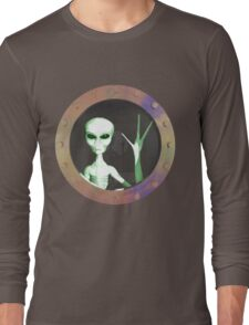 Alien Window Long Sleeve T-Shirt