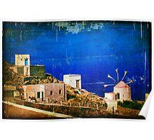 Quiet Day :: Olympos :: Karpathos Island - Greece Poster