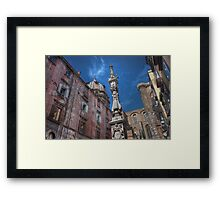 Pillar of the Community Framed Print