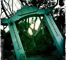 Memorial gate by robigeehk