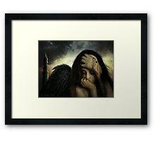 Gilded Cage Framed Print
