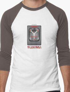 Flux Capacitor Men's Baseball ¾ T-Shirt