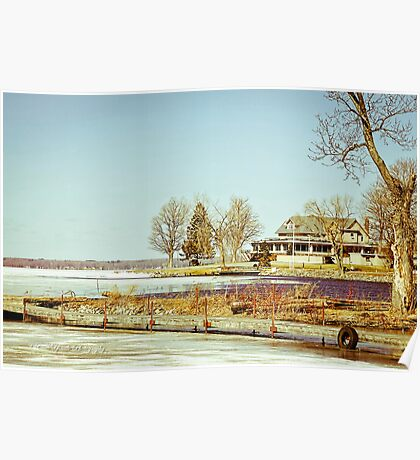 Along the Shores of Oneida Lake Poster