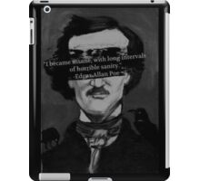 Edgar Allen Poe Quote iPad Case/Skin