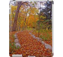 Autumn Nature Walk iPad Case/Skin