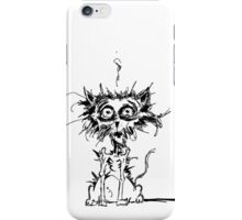 Angst Cat iPhone Case/Skin