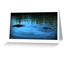 Swampness Monster Greeting Card