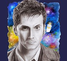 Doctor Who No.10 - David Tennant 1 by Dacdacgirl