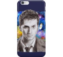 Doctor Who No.10 - David Tennant 1 iPhone Case/Skin