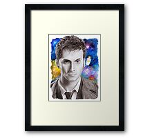 Doctor Who No.10 - David Tennant 1 Framed Print