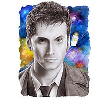 Doctor Who No.10 - David Tennant 1 Photographic Print