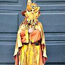 Witch figure: Santiago de Compostela, Galicia, Spain by Stephen Frost