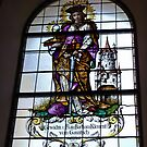 Church Window by Lee d'Entremont