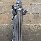 Living statue: Santiago de Compostela, Spain by Steve